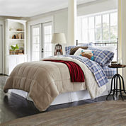 JCPenney Home™ Faux Ultra Mink Fur and Sherpa Comforter
