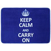 Mohawk Home® Keep Calm and Carry On Bath Rug