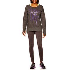 Xersion™ High-Low Sweatshirt or Fitted Leggings