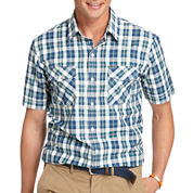 IZOD® Short-Sleeve Performance Poplin Shirt