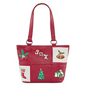 Lily Bloom Holiday Party Tote Bag