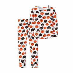 Carter's® 2-pc. Halloween Cotton Pajama Set - Baby Girls newborn-24m