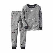 Carter's® 2-pc. Glow-in-the-Dark Cotton Pajama Set - Toddler Boys 2t-5t