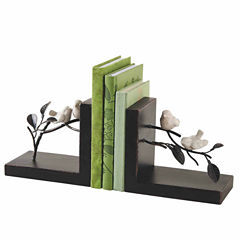 Bird on Branches Bookend Pair