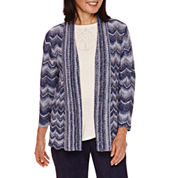 Alfred Dunner® Sierra Madre   Space Dye Cardigan