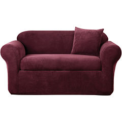 SURE FIT® Stretch Metro 2-pc. Loveseat Slipcover