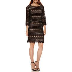Ronni Nicole Lace Shift Dress