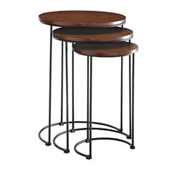 Carolina Chair & Table Mackintosh 3-pc. Nesting Tables