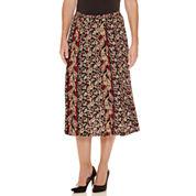 Sag Harbor® Heritage Separates   Paisley Print Skirt
