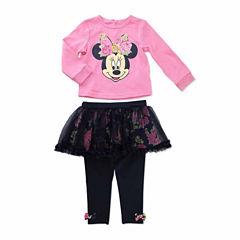Disney Girls Skirt Set NB-24M