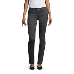YMI® Wanna Betta Butt Twill Skinny Pants - Juniors