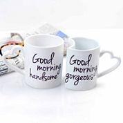 Cathy's Concepts 10 oz Good Morning Coffee Mug Set