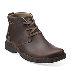 Clarks® Senner Ave Mens Leather Boots