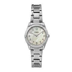 Timex® Easy Reader Womens Stainless Steel Bracelet Watch TW2P76000