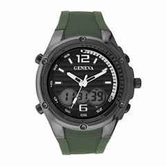 Geneva Mens All-Black Watch