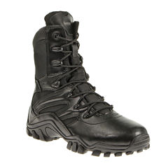 Bates Delta-8 Mens Side-Zip Slip-Resistant Work Boots