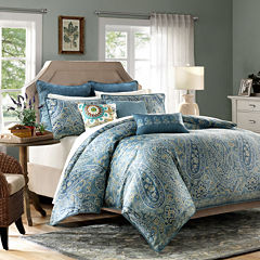 Harbor House Belcourt 3-pc. Duvet Cover Set & Accessories