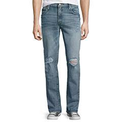 Arizona Slim Flex Destructed Jeans
