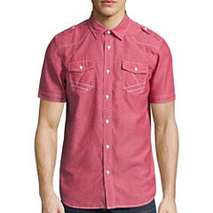 i jeans by Buffalo® Short-Sleeve Merrick Woven Shirt