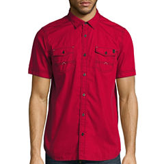 i jeans by Buffalo Mendel Short-Sleeve Woven Cotton Shirt