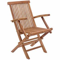Zuo Modern Regatta Folding 2-pc. Patio Dining Chair