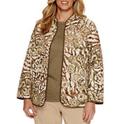 Alfred Dunner® Cactus Ranch Floral Skin Quilt Jacket - Plus