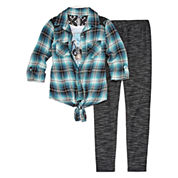 Knit Works Girls 2-pc. Legging Set