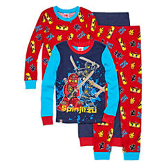 Ninjago Kids Pajama Set Boys