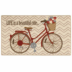 Love is a Ride Rectangular Rug
