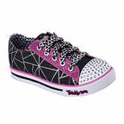 Skechers® Twinkle Toes Sparkle Glitz Girls Sneaker - Little/Big Kids