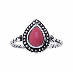 Silver Treasures Womens Red Sterling Silver