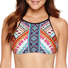 a.n.a Tribal Beat High Neck Swimsuit Top