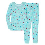 Okie Dokie Girls Pant Pajama Set-Preschool