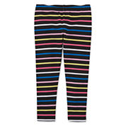 Okie Dokie Stripe Denim Leggings - Toddler