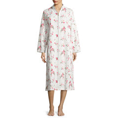 Adonna Long Sleeve Jacquard Robe
