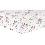 Trend Lab Winter Wishes Flannel  Crib Sheet