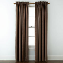 Royal Velvet® Kendall Stripe Blackout Rod-Pocket Curtain Panel