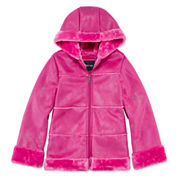 Limited Too Girls Midweight Parka-Big Kid