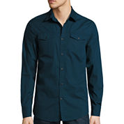 J.Ferrar Button-Front Shirt