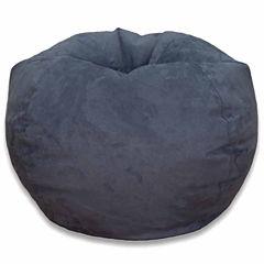 Microsuede Bean Bag Chair