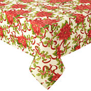 North Pole Trading Co. Classic Christmas Tablecloth