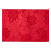 North Pole Trading Co Poinsettia Damask 4-pc. Placemat