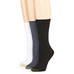 Gold Toe® 3-pk. Weekender Crew Socks