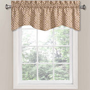 Waverly® Lovely Lattice Rod-Pocket Tailored Valance