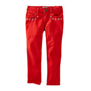 OshKosh B'gosh® Embroidered Skinny Pants - Preschool Girls 4-6x