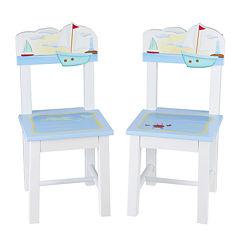 Guidecraft Sailing 2 Chairs Set