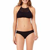 a.n.a® Crochet High-Neck Swim Top or Crochet Side-Tie Hipster Swim Bottoms
