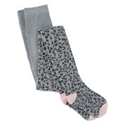 Cuddl Duds Heather Gray Animal Tight