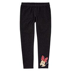 Disney Minnie Mouse Knit Leggings - Preschool Girls