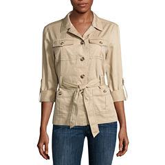 Liz Claiborne® Safari Jacket - Tall